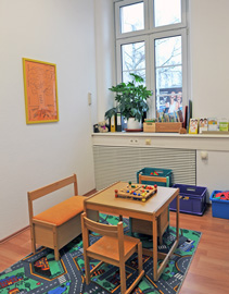 Therapieraum für Kinder